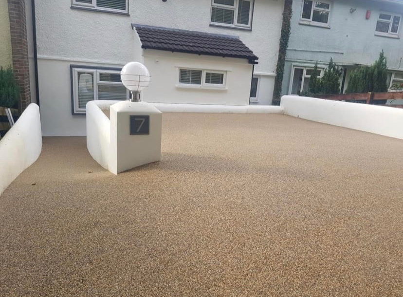 resin driveway in manchester